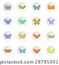 向量 向量圖 蝴蝶 28785001