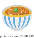 猪排盖饭 猪排饭 裹面包屑猪肉饭 28789999