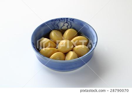 蒜 醬油醃 食物 28790070