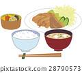 Set gourd set dishes 28790573
