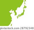 日本地图 东南亚 亚洲 28792348