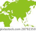 日本地图 世界地图 东南亚 28792350