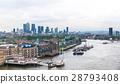沿著泰晤士河俯瞰塔橋的風景 28793408