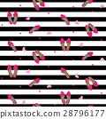 Chic girl fashion seamless pattern. 28796177