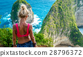 girl, beach, indonesia 28796372