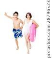summer couple vacation 28796523