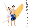summer couple vacation 28796526
