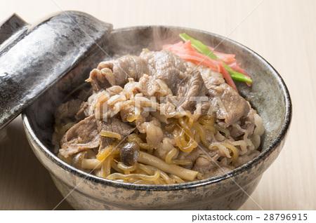 ข้าวหน้าเนื้อ,อาหารญี่ปุ่น,อาหาร 28796915