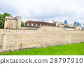 英國世界遺產倫敦塔牆 28797910