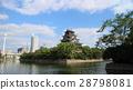 广岛城 壕沟 护城河 28798081