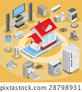 isometric, smart, vector 28798931
