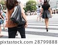 涩谷 复式交叉 十字路口 28799888