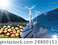 Renewable Energies - Wind Solar Biomass Hydropower 28800151