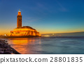 Hassan II Mosque in Casablanca, Morocco 28801835