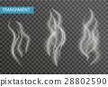 smoke, transparent, isolated 28802590