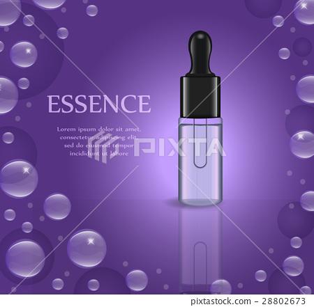 Realistic Essential oil or herbal medicine package 28802673