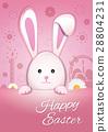 复活节 复活节兔子 兔子 28804231