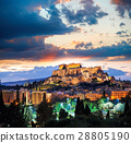 Parthenon temple on the Athenian Acropolis, Greece 28805190
