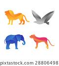 矢量 矢量图 动物 28806498