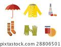 autumn, vector, clothes 28806501