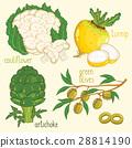 Vegetable mix raster 28814190