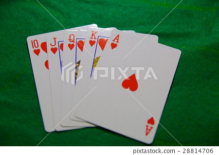 Playing cards, casino poker full house 28814706