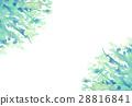 수채화 햇살 배경 소재 28816841