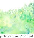 수채화 햇살 배경 소재 28816846