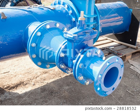 Dring water piping , Gate valves and join member 28818532