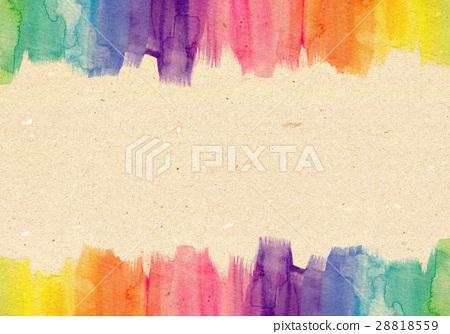 彩虹色 背景素材 背景材料 插圖素材 28818559 Pixta圖庫