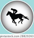 horse jockey racehorse 28820263