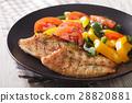 tilapia grilled salad 28820881