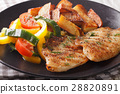 tilapia grilled fillet 28820891
