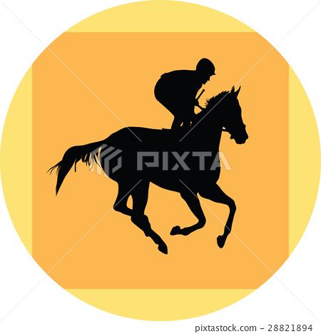 horse and jockey 28821894