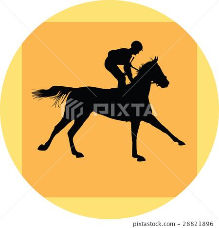 horse and jockey 28821896