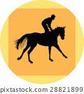 ม้า,ขี่ม้าแข่ง,ม้าแข่ง 28821899