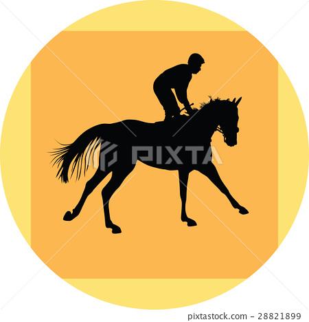 horse and jockey 28821899