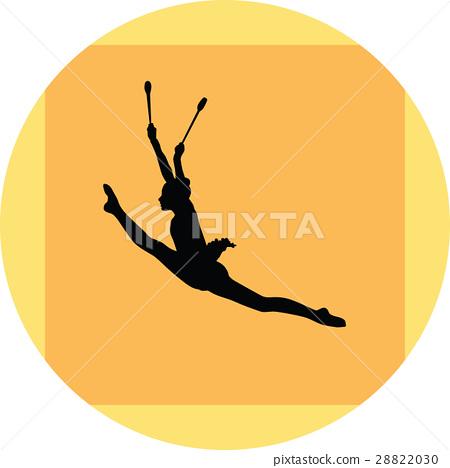 rhythmic gymnastics 28822030