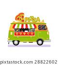 automobile, car, icon 28822602