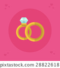 gold icon ring 28822618