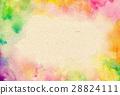 水彩紋理紙質量 28824111