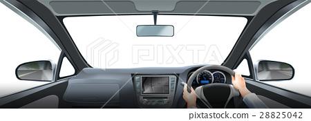 用於車內合成+手(顏色)包括在內 28825042