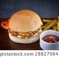 yummy fish  hamberger 28827064
