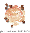 coffee vector background 28828868