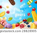 background delicious ice cream 28828905