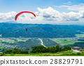 paraglider, paragliding, mountain 28829791