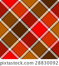 seamless, plaid, background 28830092