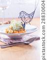 pasta, seafood, food 28830604