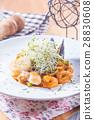 pasta, seafood, food 28830608