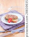 อาหาร,ย่าง,ตับ 28830635